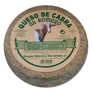 """QUESO DE CABRA AL ROMERO ARTESANO. """"DON ISMAEL """""""