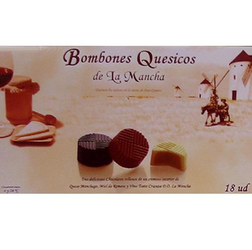 BOMBONES QUESICOS DE LA MANCHA