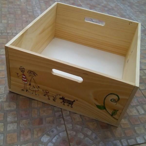 Cajas de madera de uso alimentario personalizadas y for Cajas personalizadas con fotos