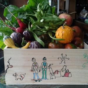 Cajas de madera, personalizadas pintadas a mano