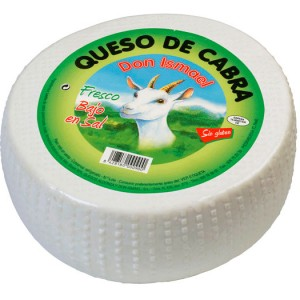 QUESO DE CABRA FRESCO . DON ISMAEL