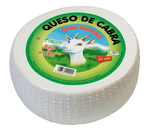 QUESO DE CABRA FRESCO . DON ISMAEL