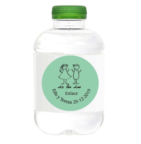 botellas de agua para Bodas