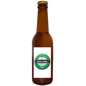 Cervezas personalizadas para Bodas